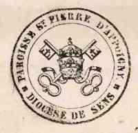 1872.Sceau de la Paroisse st Pierre.jpg